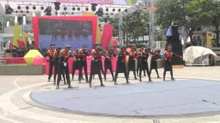 Variasi Formasi Music Paskibra LACAK Patria17 at Dreamers Festival 2015