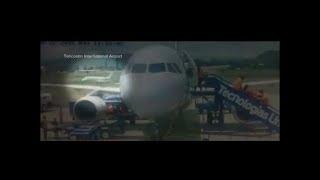 Air disaster plane crash Gulfstream G200 Galaxy Tegucigalpa Honduras footage captures