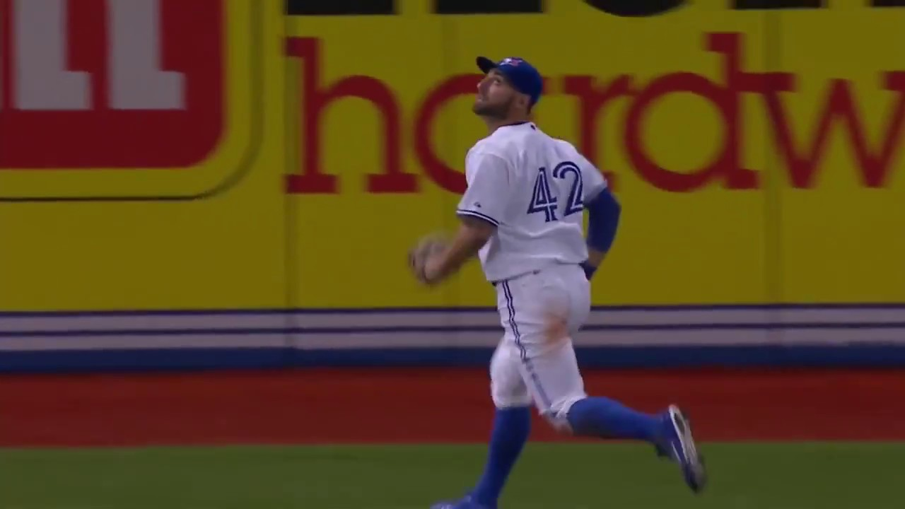 Kevin Pillar - Top 10 Catches