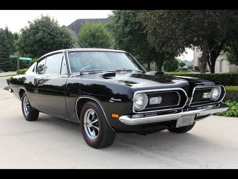 1969 plymouth baracuda for sale