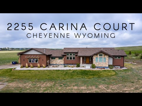 Home For Sale  - 2255 Carina Ct. Cheyenne, Wyoming 82009