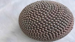 Decorative Bling Beaded Ball DIY- Part 1