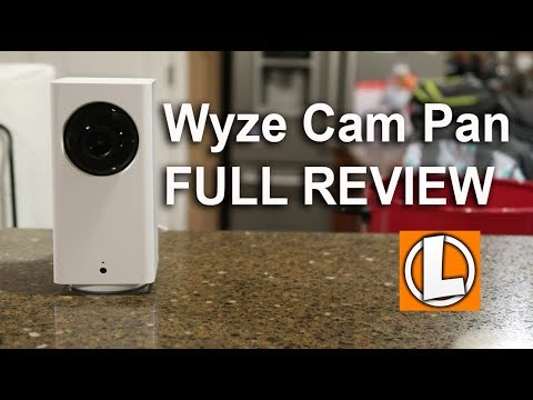 Wyze Cam Pan Review - Unboxing, Setup, Features, Settings, Footage