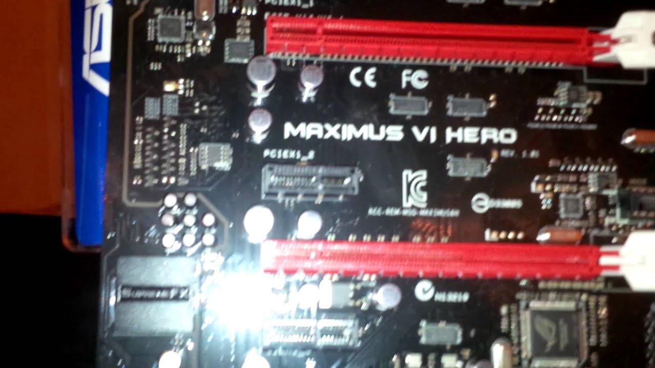 Asus MAXIMUS VI HERO RST Windows 7 64-BIT