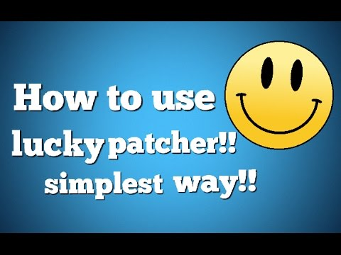 How To Use LuckyPatcher [In App Purchases]