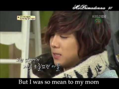 [Eng Sub]Leehongki Ftisland cry and say sorry