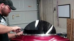 Windshield Replacement On A Harley Davidson