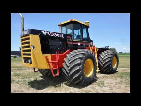 Restored 1982 Versatile 1150 4WD Tractor Sold on Iowa Collector Auction Today