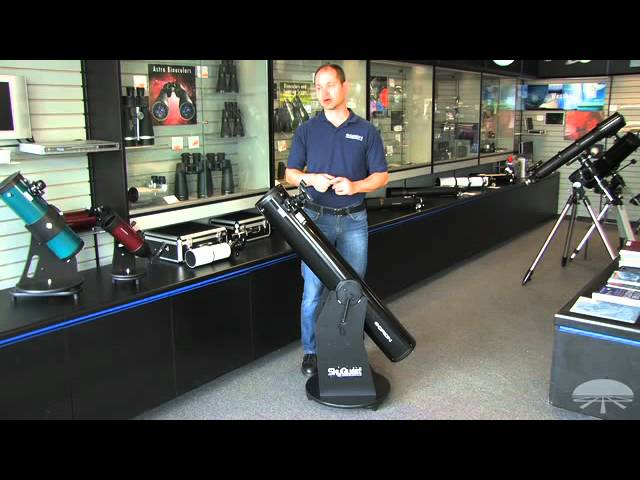 Features Of The Orion Skyquest Xt6 Classic Dobsonian Telescope Youtube