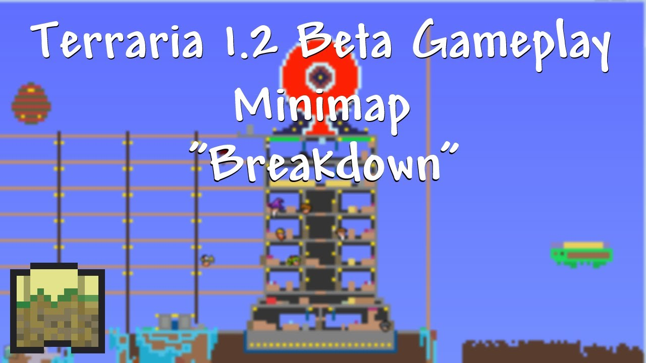 how to make a minimap in terraria