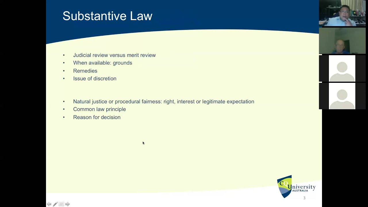 Administrative Law (Revision Tutorial)