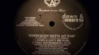 The Fugitives On The Run - Everybody Gotta Git Sum /  Everybody Gotta Git Sum (carlitos mix)