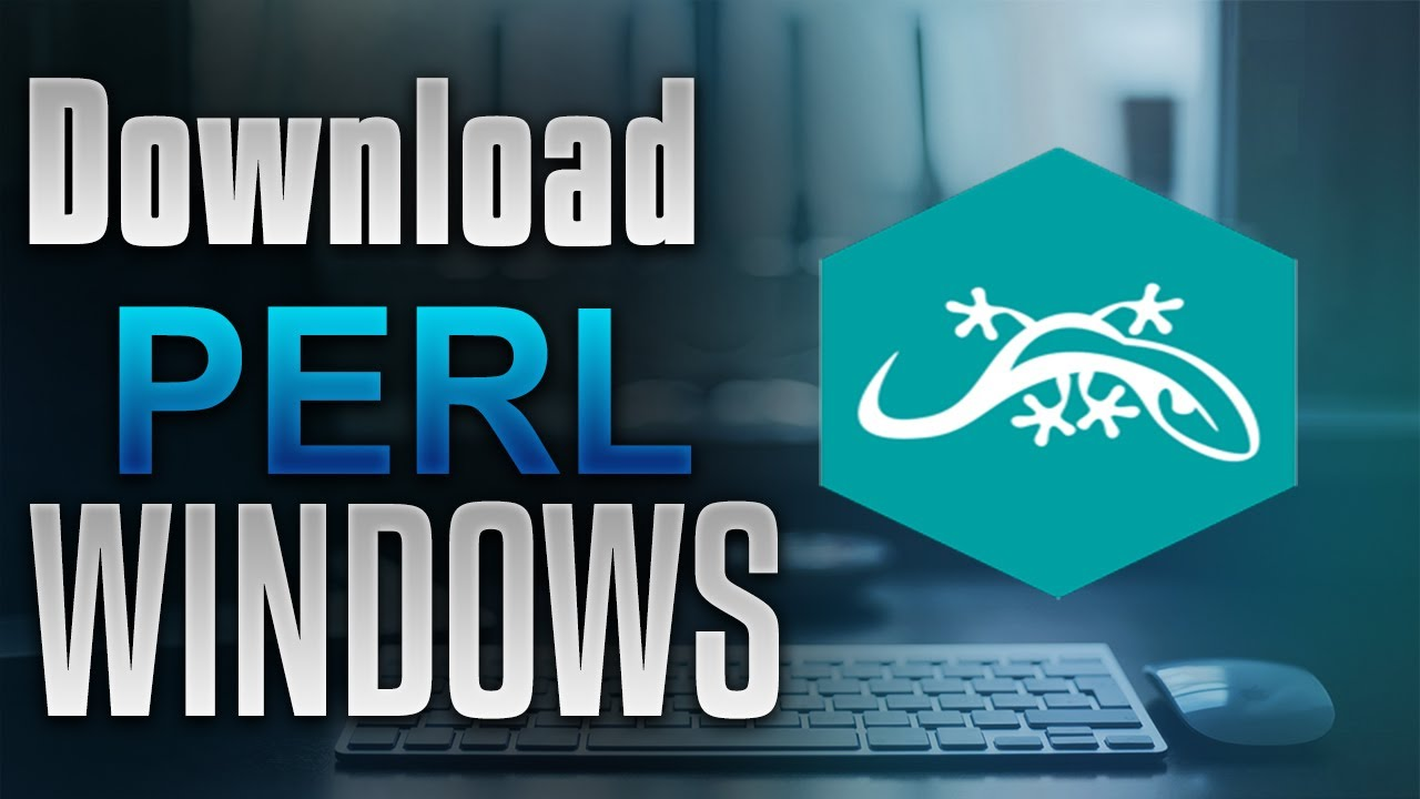 Tutorial Download And Install Perl Windows
