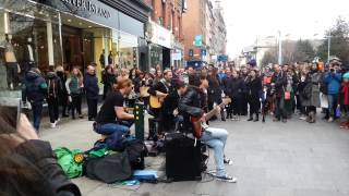 Keywest - I Never Loved You Anyway (Grafton Street DUBLIN) March2014