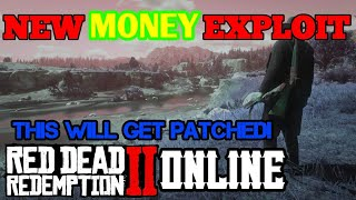 RDR2 ONLINE 💰New MONEY Exploit - Red Dead 2 Fast Cash - Easy Fish Glitch