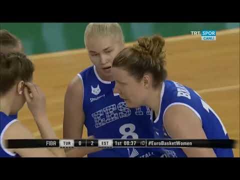 turkey-estonia--women's eurobasket 2019 group qualifications--round 4--[14/2/2018]