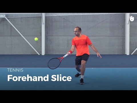 How to Hit a Forehand Slice | Tennis
