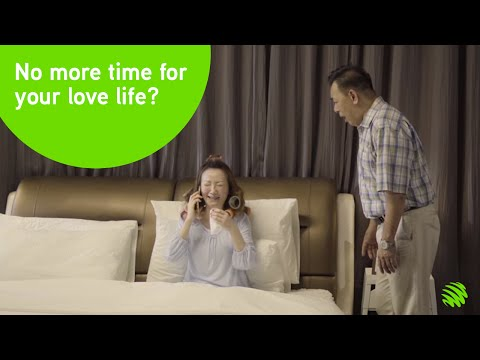 Save your love life with Maxis Zero Downtime Business Fibre