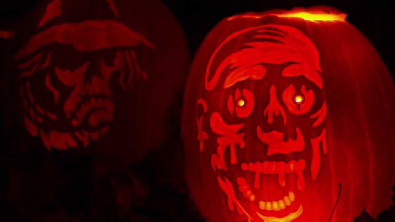8 jahre kürbis kunst inkl. thidf - halloween sound special - youtube