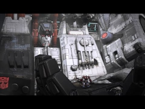 metroplex serves prime transformers fall of cybertron ps3 youtube