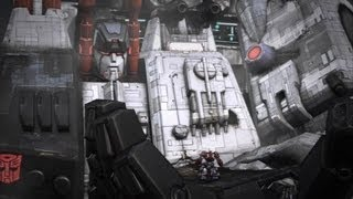 Metroplex Serves Prime - Transformers: Fall of Cybertron (PS3)