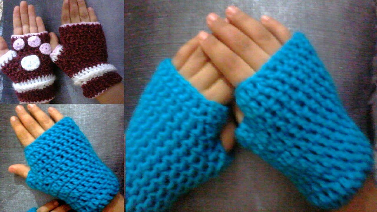 Fingerless gloves diy - Let S Crochet Fingerless Gloves For Beginners