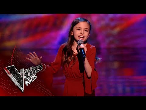 Mandy Performs 'Move': Blinds 3 | The Voice Kids UK 2018