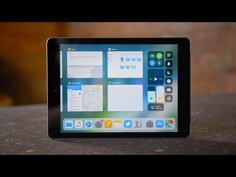 iOS 11: iPad