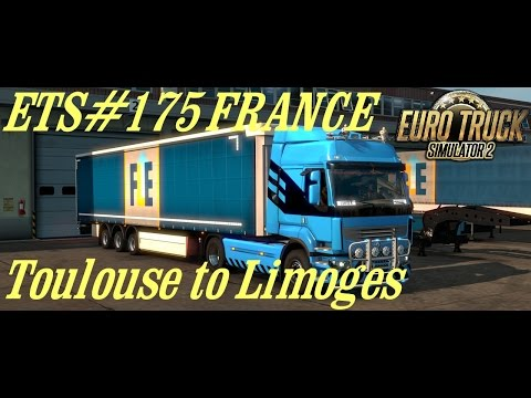 ETS#175  FRANCE  Transporting 4 Tons of Computer equipment from Toulouse to Limoges 324 KM