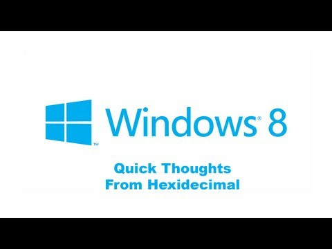 Quick Look: Windows 8 With Classic Shell