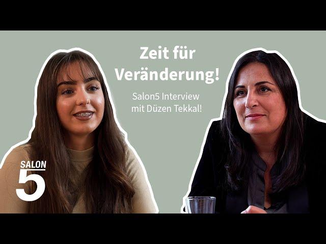 Zeit für Veränderung: Wir sprechen mit der Aktivistin Düzen Tekkal!