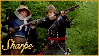Sharpe Fights Off The French | Sharpe