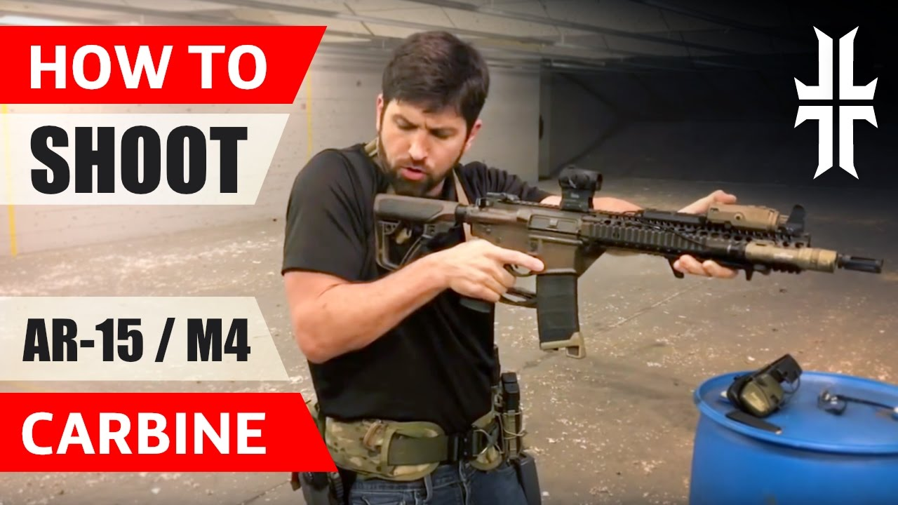 How to Shoot an AR-15 / M4 Carbine