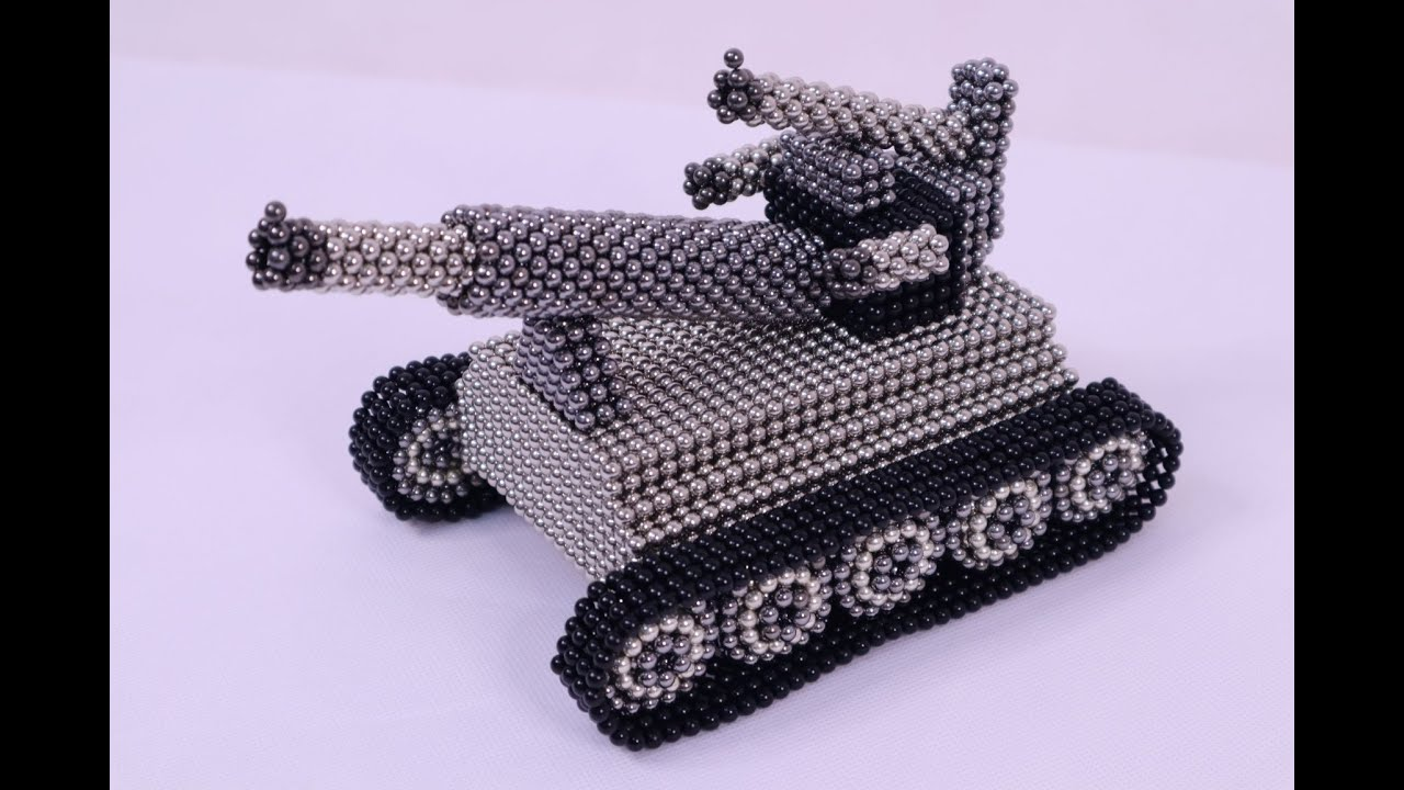 DIY | how to make Super Tank from magnetic balls | MGB magnetic balls