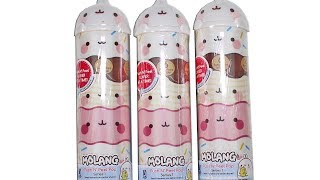 Molang Push N Peel Pop Blind Box Unboxing Toy Review
