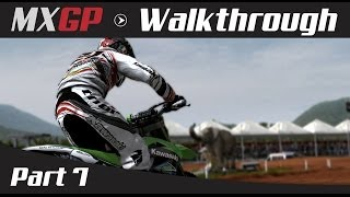 MXGP: The Official Motocross Game Walkthrough - Part 7 MX2 Brazilian Grand Prix