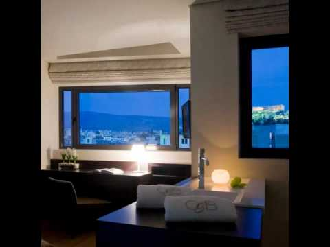 O&B Athens Boutique Hotel reinvented, Athens - Greece.wmv