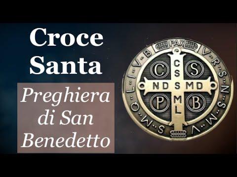 Croce santa preghiera di san benedetto contro il maligno - Vi metto a tavola san benedetto ...