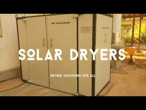 Commercial Solar dryers for fruits and vegetables