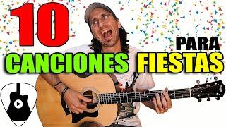 Las 10  canciones mas divertidas para tocar en una fiesta! (No trap ni reggaeton)