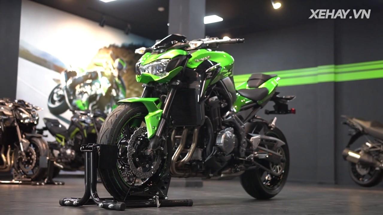 [XEHAY.VN] Cận cảnh Kawasaki Z900 - naked-bike giá 288 triệu tại Việt Nam
