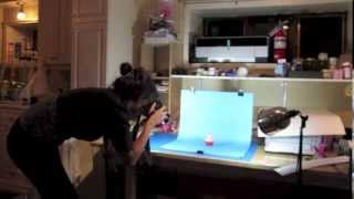 How to make a mini photo studio
