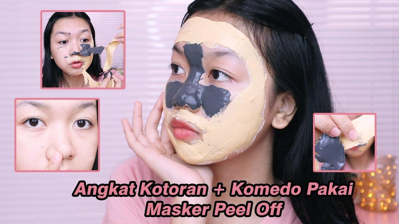 Cara Pakai Masker Peel Off Yang Benar Desty Yufenti Youtube