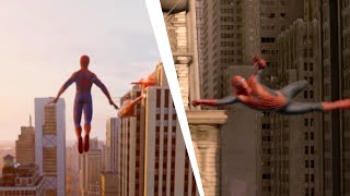 Spider-Man PS4 Recreating Spider-Man 2 Ending / Swinging scene