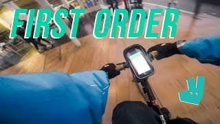 Deliveroo - How to DELIVER an ORDER! 🍔🍕🚴(Step by Step Guide)