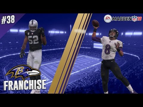 Back On Track? | @ Raiders (S2,G9) | Madden NFL 18 Baltimore