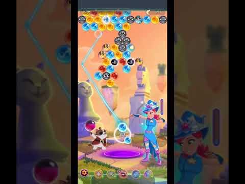 Bubble Witch 3 Saga level 1544 ~One MAGIC HAT