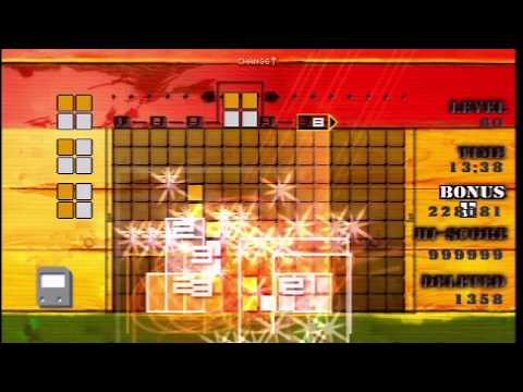 "LUMINES ""Challange Mode, Score 999999"" in 58:09"