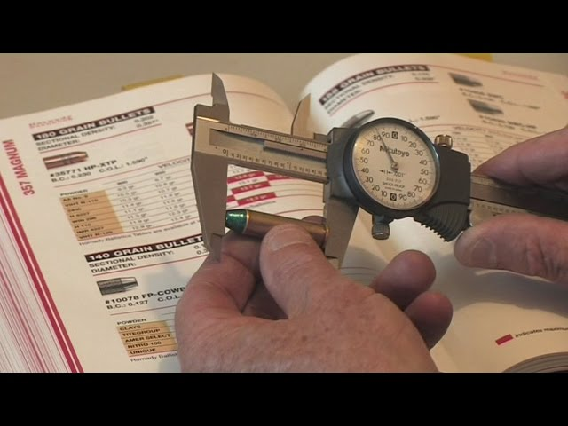 Reloading your own pistol ammunition