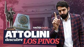 Antonio Attolini visitó por primera vez Los Pinos